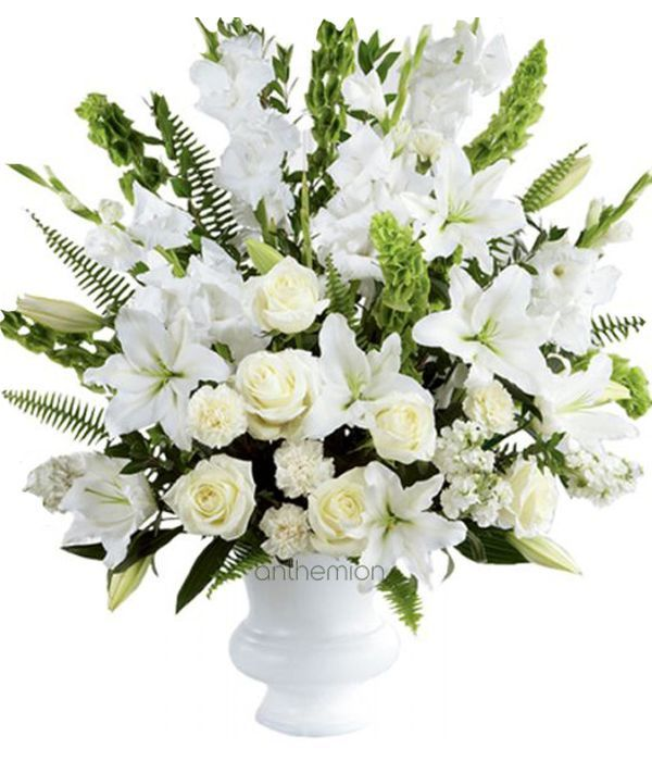 Sympathy White Bouquet