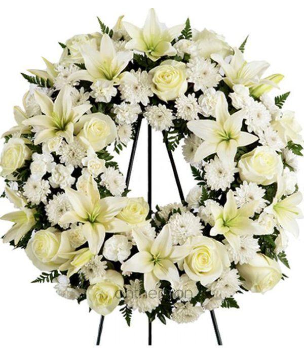 Κομψό Στεφάνι Κηδείας