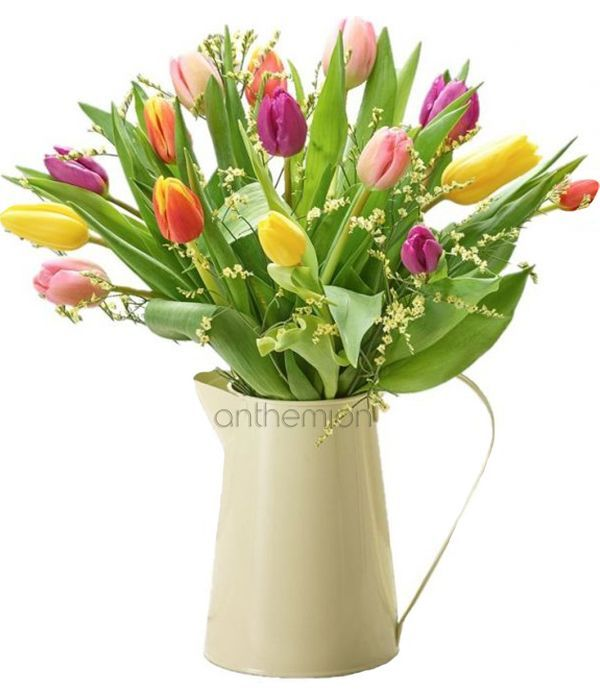 Tulip Medley Jug