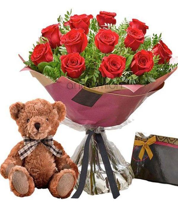 Be mine rose gift set