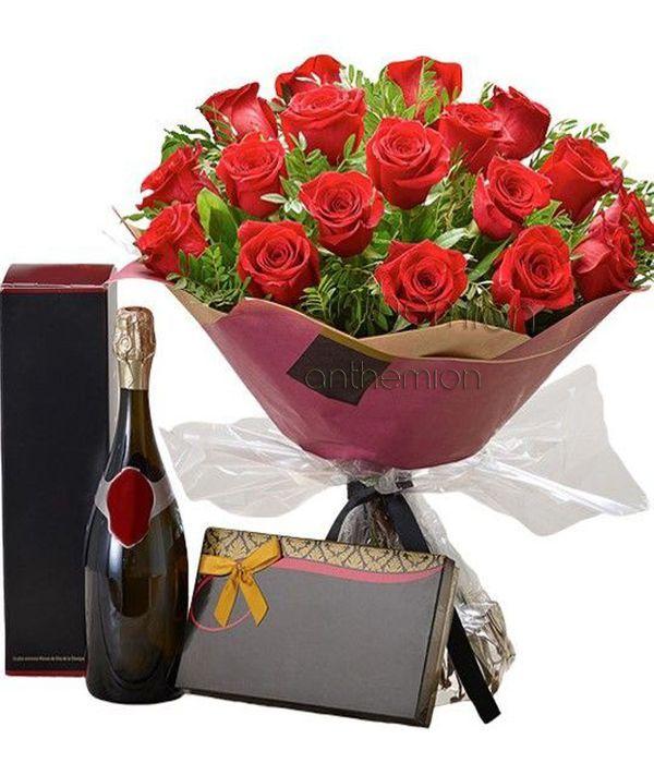 Romantic rose gift set