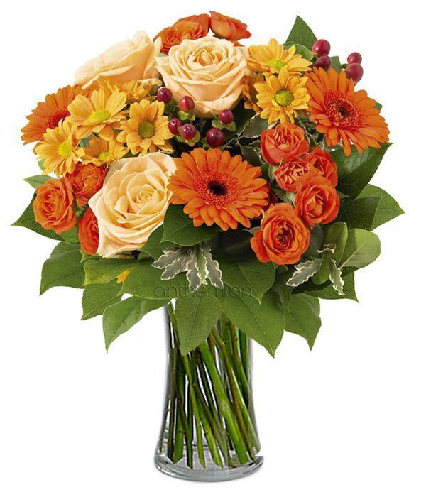 Orange elegant bouquet