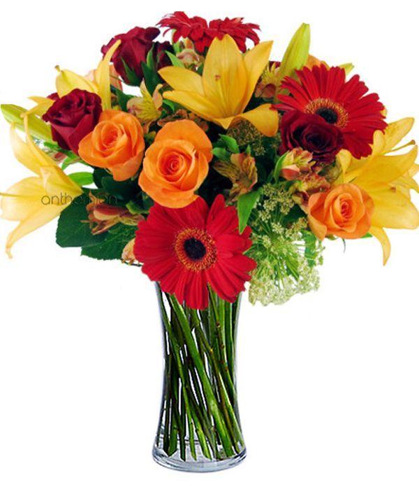 Bright bouquet of joy