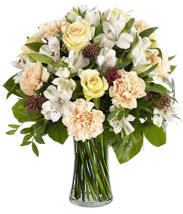 Elegant salmon-cream flowers