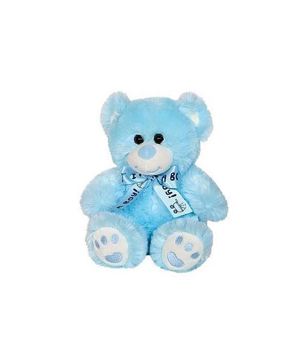 "Light blue teddy bear ""it's a boy"" 20cm"