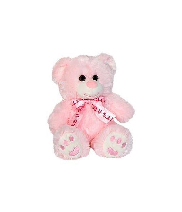 "Pink teddy bear ""it's a girl"" 20cm"