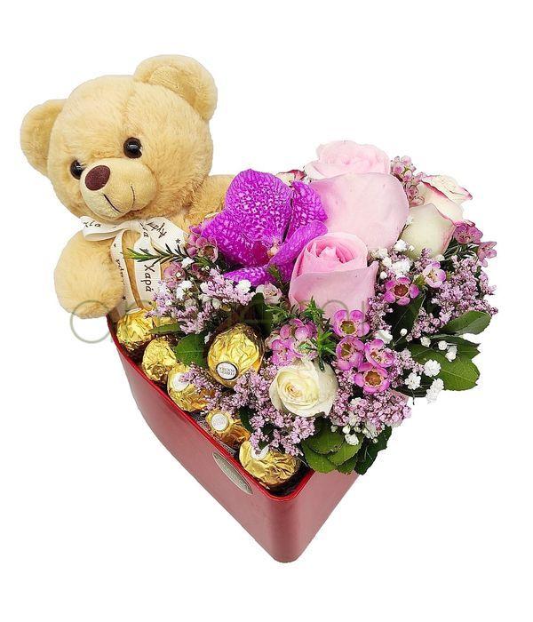 Τρυφερά συναισθήματα με ροζ λουλούδια