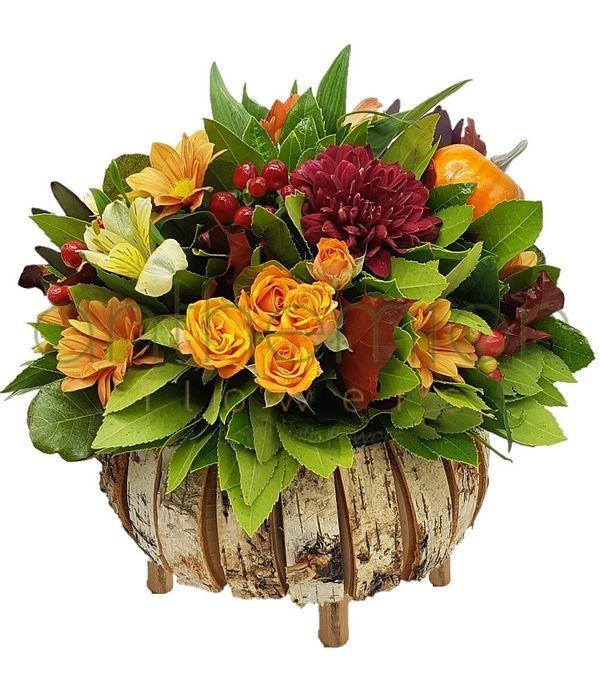Αποστολη λουλουδιων του Φθινόπωρού