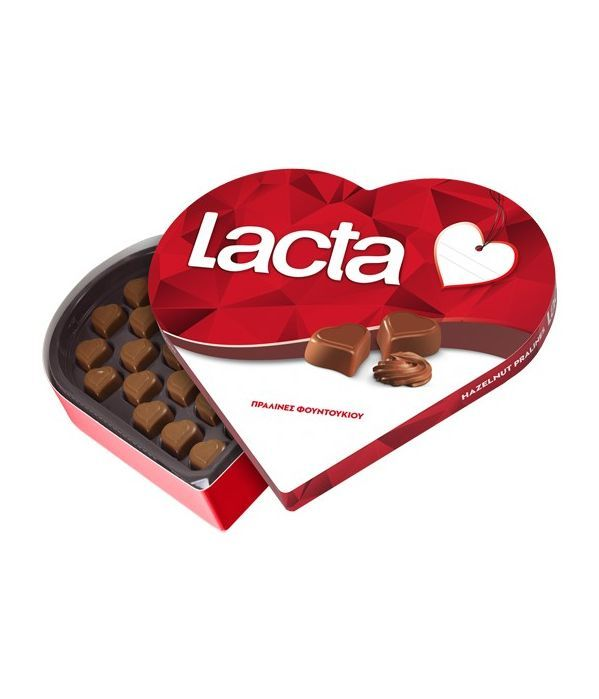 Σοκολατάκια Καρδιά Lacta