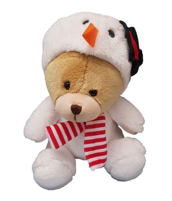 Αρκουδάκι Χιονάνθρωπος 25 εκ.