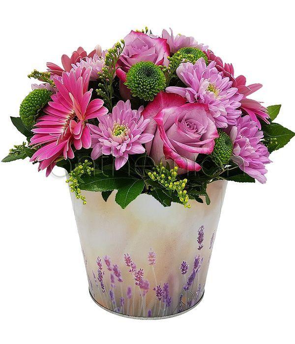 Δώρα και ευχές με λουλούδια