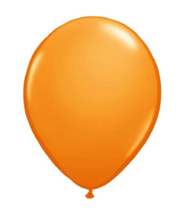 Πορτοκαλί λάτεξ μπαλόνι 30εκ.
