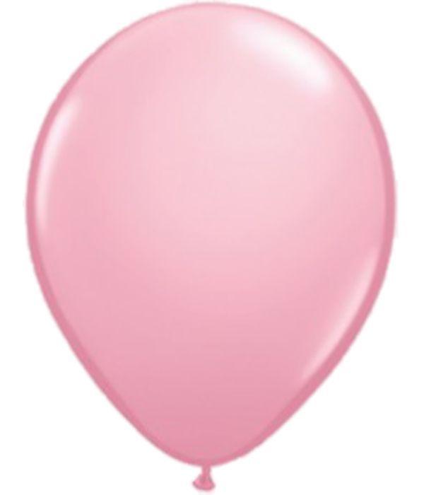 Ροζ λάτεξ μπαλόνι 30εκ.
