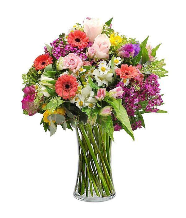 Αλίκη με παστέλ λουλούδια