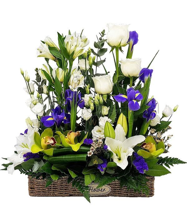 Καλάθι λουλούδια εποχής Online