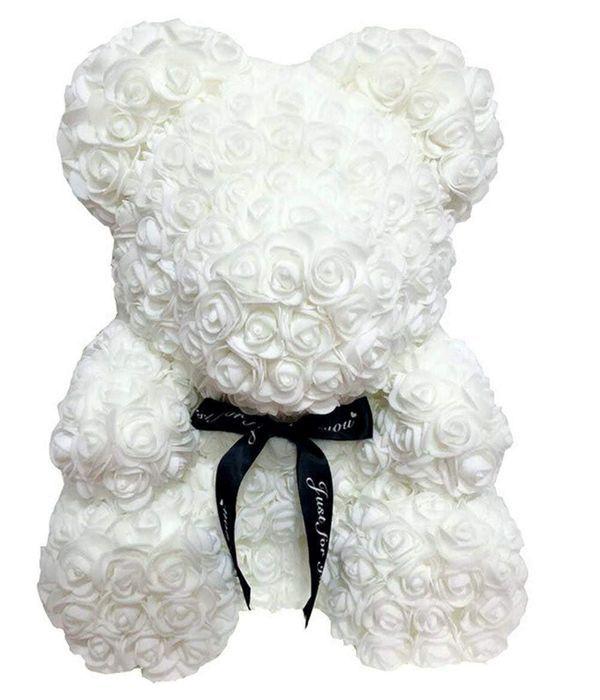 Λευκό αρκουδάκι 45 εκ.