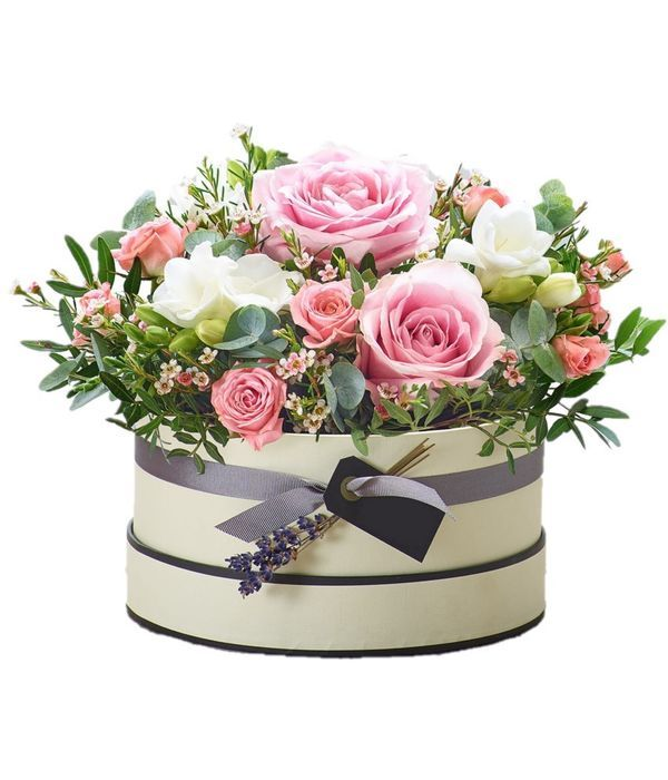 Rose Blush Hatbox