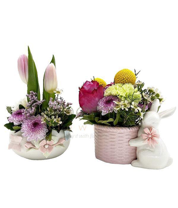 Δώρο για το Πάσχα σε ροζ αποχρώσεις
