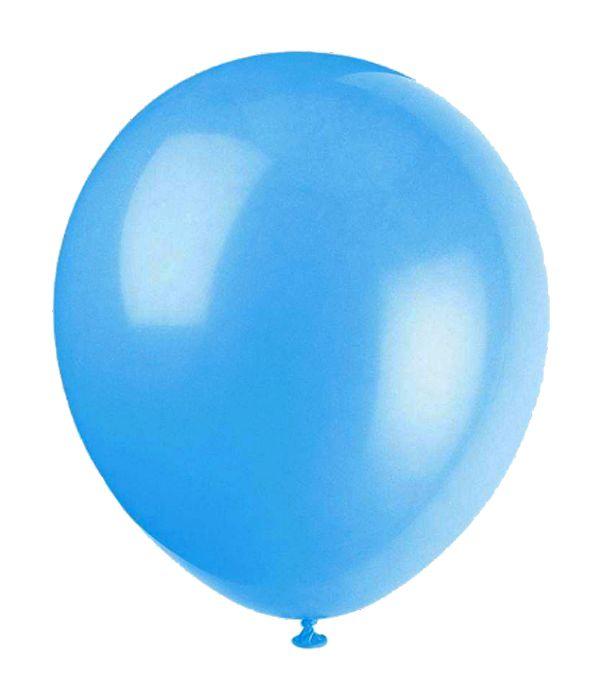 Latex Ballon in a light blue color
