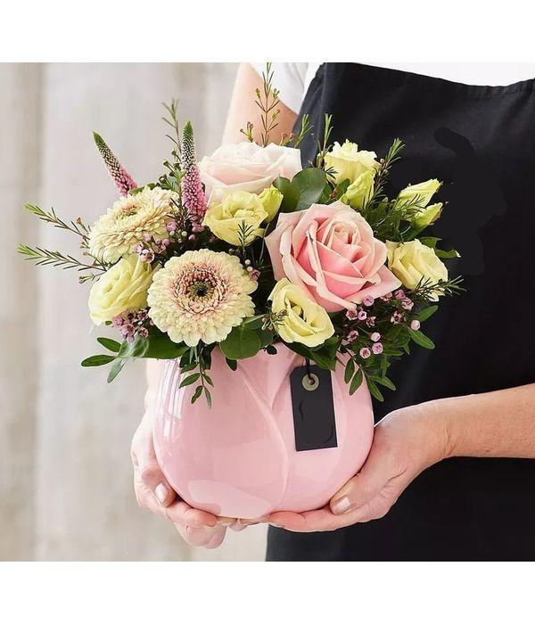 Απαλά χρώματα με λουλούδια