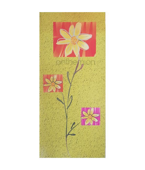 Wishing card with daisies