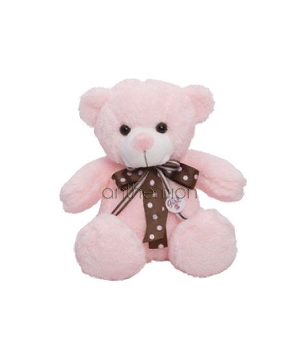 Ροζ αρκουδάκι 35εκ.