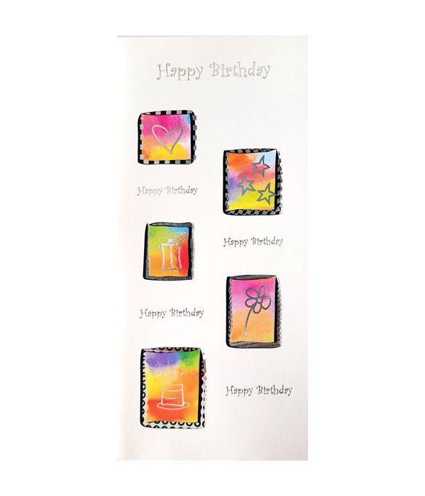 Γενέθλια ευχετήρια κάρτα