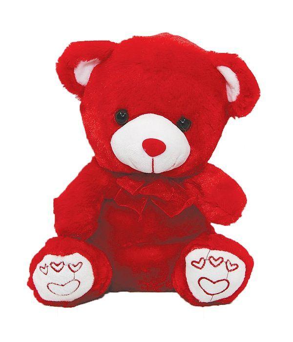 Red teddy bear 20cm